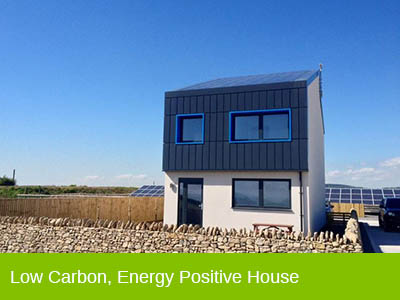Low Carbon, Energy Positive House